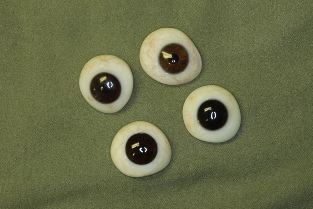 custom work stock artificial eyes digital eyes